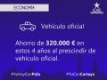Cartaya - Economía - Supresión del Vehículo Oficial